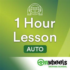 1 Hour Lesson Auto at Onwheels Driving School