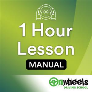 1 Hour Lesson Manual at Onwheels Driving School