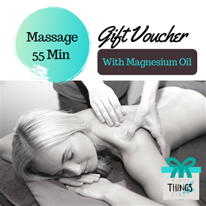 55 Minute Magnesium Massage Gift Voucher at First Things First Wellness Centre