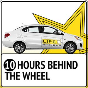 <p>The package contains: 10 x 1 hour Behind The Wheel driving lessons.</p>