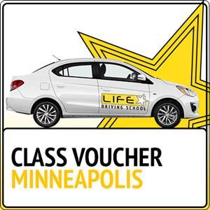 Class Voucher - Minneapolis at Life Star Driving School