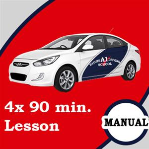 Manual Lessons 4 x 90 Minutes at Eatons A1 Driving School