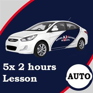 Auto Lessons 5 x 2 Hour at Eatons A1 Driving School