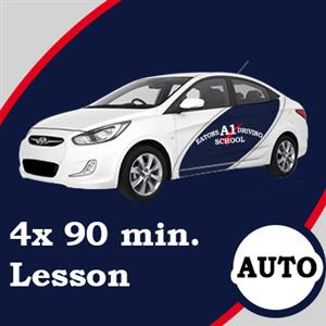 Auto Lessons 4 x 90 Minutes at Eatons A1 Driving School