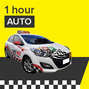 Auto Lesson - 1 Hour at BestWest Driving School