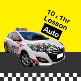 Auto Lessons - 10 x 1 Hour