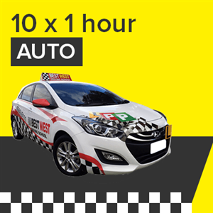 Auto Lessons - 10 x 1 Hour at BestWest Driving School