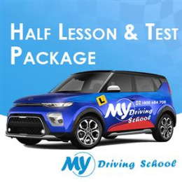30 Min Lesson + Car Hire for Test Auto