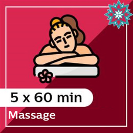 5 x 60 min Massage Pack at Zing Massage Therapy