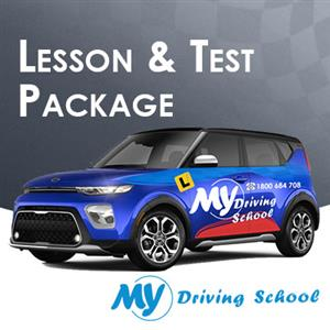 1 Hr. Lesson + Car Hire for Test Manual at My Driving School
