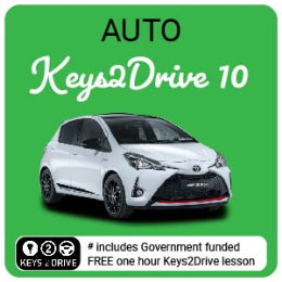 10 Hour Special Package inc. FREE Keys2Drive (auto)