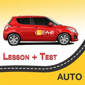 1 Hour Lesson + Test at iLeap Driving School