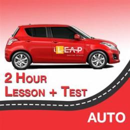2 Hour Lesson + Test