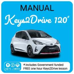 2.0 Hour Lesson inc. FREE Keys2Drive  (manual)
