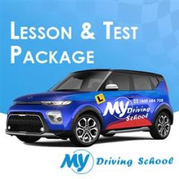 1.5 Hr. Lesson + Car Hire for Test Auto