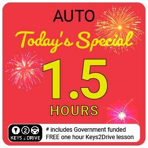 'Crazy' Special inc. FREE Keys2Drive (auto) at L PASSO Driving School
