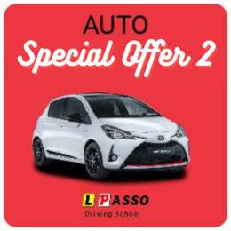 10 Hour Special 600  inc. FREE Keys2Drive (auto)