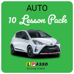 10 Hour Lesson Package (auto)