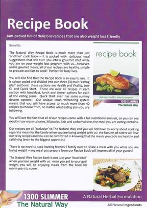 Recipe Book at Body Techniques