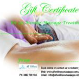 Gift Certificate75 Min Massage