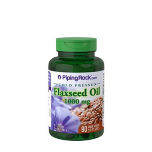 Piping Rock Flaxseed Oil 90 Capsules at First Things First Wellness Centre
