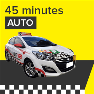 Auto Lesson - 45 Minutes at BestWest Driving School