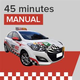 Manual Lesson - 45 Minutes
