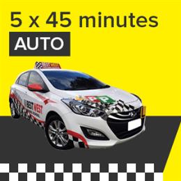 Auto Lessons - 5 x 45 Minutes