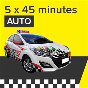 Auto Lessons - 5 x 45 Minutes at BestWest Driving School