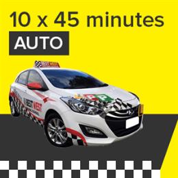 Auto Lessons - 10 x 45 Minutes