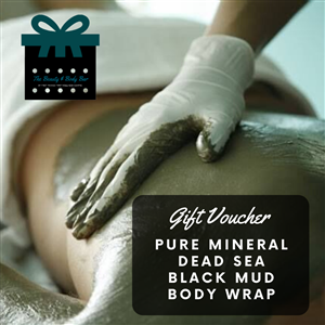 Pure Mineral Dead Sea Black Mud Body Wrap at First Things First Wellness Centre