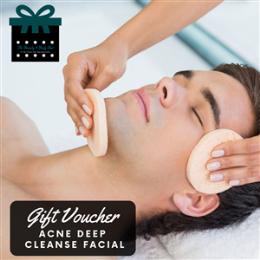 Acne Deep Cleanse Facial