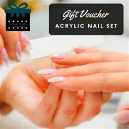 Acrylic Nails Full Set Short Length