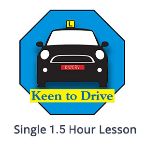 Single 1.5 Hour Manual Lesson at Keen to Drive