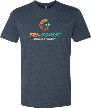 XL  Tri-Covery Logo T-Shirt at Tri-Covery Massage & Flexibility