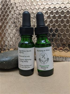 Peppermint Oil at Harmony Healing Room