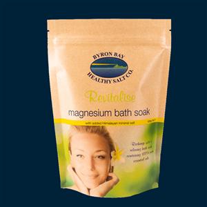 Magnesium Bath Soak - Revitalise at Zing Massage Therapy