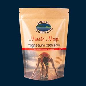 Magnesium Bath Soak - Muscle Magic at Zing Massage Therapy