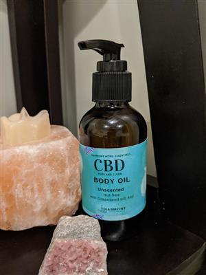 CBD Body Oil- Unscented at Harmony Healing Room