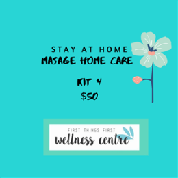 MASSAGE HOME CARE KIT 4