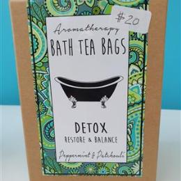 Bath Tea Bags - Detox