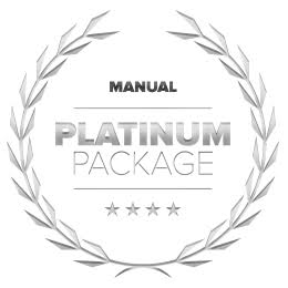 Platinum Package -  10 Manual Lessons + Test