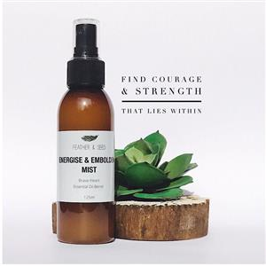 <p>Mist your room & body with this synergy blend for courage and change. <br />Change can be scary. But its worth it. This blend supports your nervous system to minimise feelings of fear and nervousness-to help you find the courage and strength that lies within. <br />A good companion to carry with you in your bag for moments you may need some support. <br />Family - Citrus, Scent - Clear & Fresh<br />Ingredients:<br />Aqua purified, Natural Solubiliser (Almond & Coconut oil), Orange Sweet, Lavendar, Geranium, Ylang Ylang, Chamomile</p>