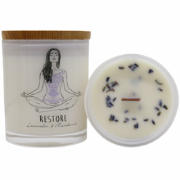 Yoga Jar Candle - RESTORE