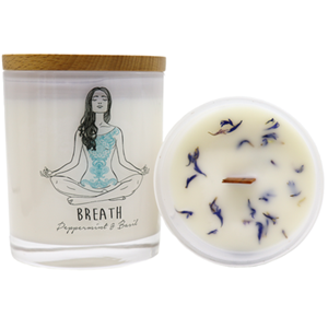 Yoga Jar Candle - BREATH at Zing Massage Therapy