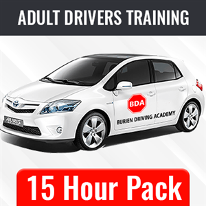 15 Hour BTW Package at Burien Driving Academy