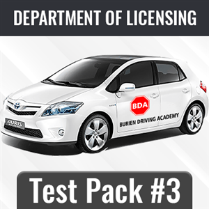 Test Package #3 at Burien Driving Academy