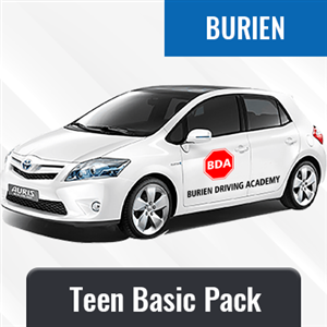 Teen Basic Package at Burien Driving Academy