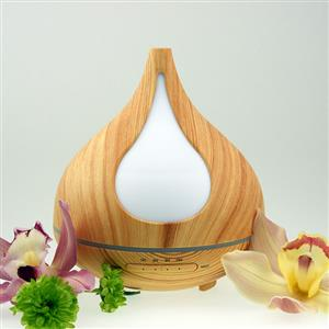 """<h5>Enjoybetter wellbeingthrough aromatherapy with this stylish ultrasonic mist diffuser.</h5> <p><span style=""""font-size: 10pt;"""">The ultrasonic method of vaporising essential oils or blends ensures they retain their therapeutic properties and qualities.</span></p> <p><span style=""""font-size: 10pt;"""">The fine mist produced bythe Aromamist diffuser disperses tiny molecules of pure essential oils or blends into the atmosphere. Your surfaces will remain dry andfree from oil residue.</span></p> <p><span style=""""font-size: 10pt;"""">Comes in a stylish light woodgrain finish.</span></p> <h5>Features:</h5> <ul> <li><span style=""""font-size: 10pt;"""">Suitable for pure essential oils or essential oil blends</span></li> <li><span style=""""font-size: 10pt;"""">Disperses only a cool mist vapour</span></li> <li><span style=""""font-size: 10pt;"""">Timer mist function - 60mins, 120mins, 180mins</span></li> <li><span style=""""font-size: 10pt;"""">Continuous mist function approx 10 hours</span></li> <li><span style=""""font-size: 10pt;"""">Automatic shutoff at low water level</span></li> <li><span style=""""font-size: 10pt;"""">Multi LED or single LED lightin mode</span></li> <li><span style=""""font-size: 10pt;"""">Independent light or mist operation</span></li> <li><span style=""""font-size: 10pt;"""">Offers humidifier characteristics</span></li> <li><span style=""""font-size: 10pt;"""">No oily hot water or naked flame</span></li> <li><span style=""""font-size: 10pt;"""">Easy to clean and maintain</span></li> <li><span style=""""font-size: 10pt;"""">Measuring cup included</span></li> <li><span style=""""font-size: 10pt;"""">Instruction manual included</span></li> <li><span style=""""font-size: 10pt;"""">One year guarantee</span></li> <li><span style=""""font-size: 10pt;"""">Eco-friendly and BPA free</span></li> </ul>"""