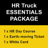 HR Truck & Essentials Earthmoving Package at Cairns Truck School